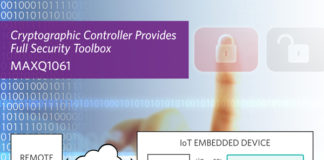 Implement Turnkey Security for Connected Devices with Maxim's Cryptographic Controller