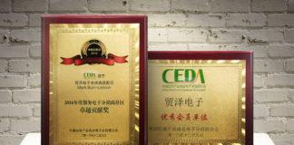 Top Member Award at CEDA Summit in China