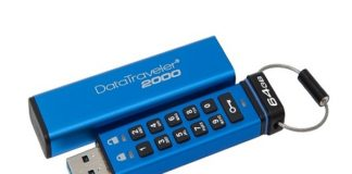 Kingston launched DataTraveler 2000 USB 3.1 drive with pin protection in India