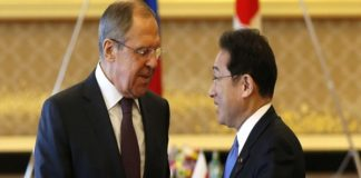 Defense, Foreign Ministers Of Japan, Russia Meet In Tokyo