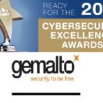 Gemalto Wins 2017 Cybersecurity Excellence Award