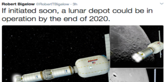Bigelow Aerospace offers plan for an expandable space station orbiting the moon by 2020