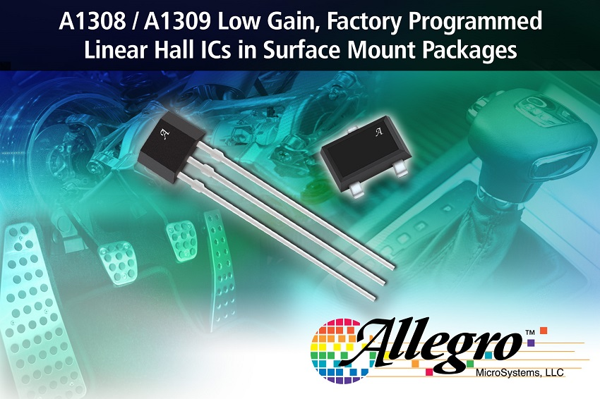 New Linear Hall Effect Sensor Ics With Analog Output In