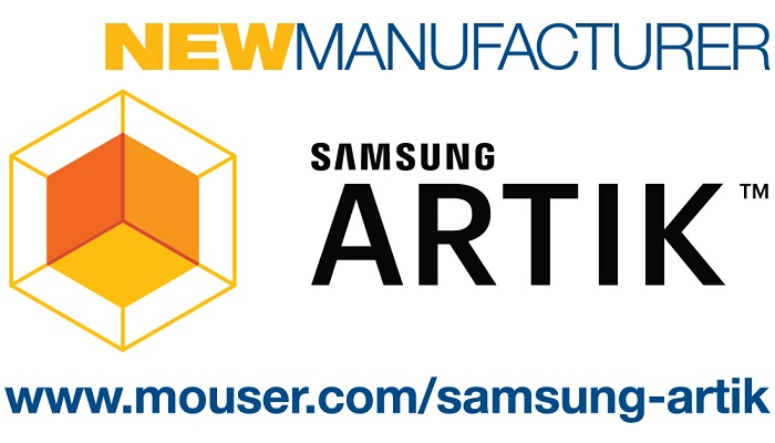Mouser And Samsung Announce Global Agreement To Distribute The