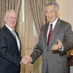 Lee Hsien Loong and Jim Mattis