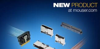 Mouser Now Stocking TE Connectivity's Sliver Internal Cabled Interconnects