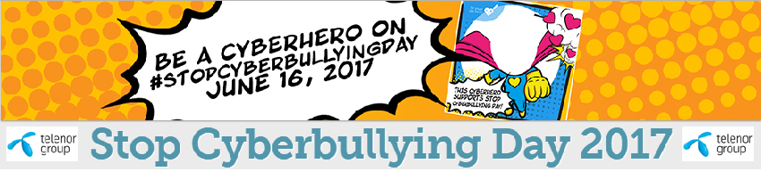 On Stop Cyberbullying Day 2017, Telenor Group
