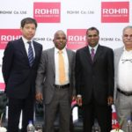 L-R Daisuke Nakamura (MD, ROHM Semiconductor India), Britto Edward Victor (Design Centre Head, ROHM Semiconductor India), Dr. Pavana Pothapragada (CEO and MD, Simlife Electric Pvt.Ltd.) and Vijay Bolloju (Manager, Applic