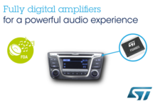 automotive audio amplifiers