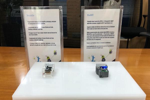 SensorTile & Blue MIC