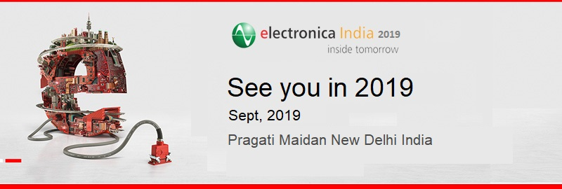 Electronica India 2019 Amp Productronica India 2019 Date