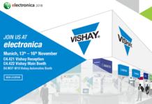 Vishay Intertechnology to Showcase Latest Industry-Leading Technologies