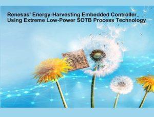 Energy Harvesting Embedded Controller