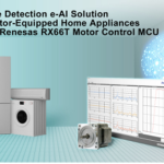e-AI Solution for Motor-Equipped Home Appliances