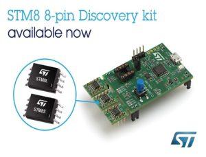 8-bit Microcontroller Discovery Kit