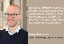 Robert Rehammar, Chief Technology Officer, Bluetest