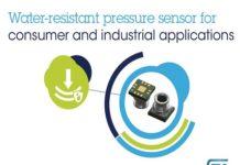 water-resistant MEMS pressure sensor