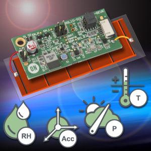 battery-less multi sensor platform