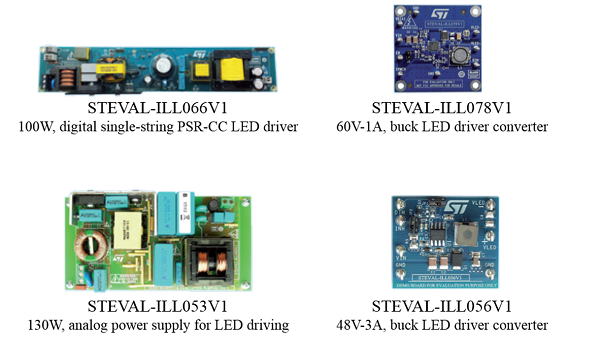 Main system evaluation boards for Street lighting
