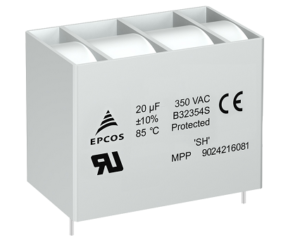 Film Capacitors Rugged AC filter capacitors