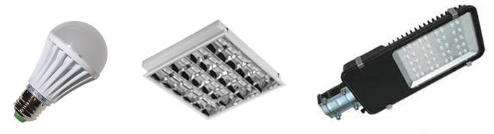 residential, commercial or street lighting