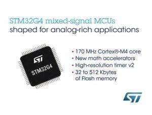 STM32G4 MCUs