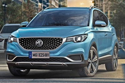 MG Hector Electric Vehicle