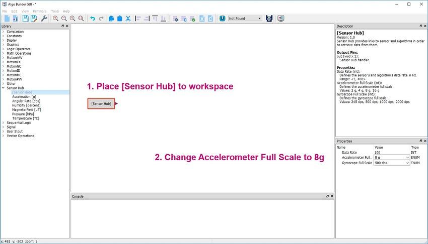 Steps to develop MEMS algo code