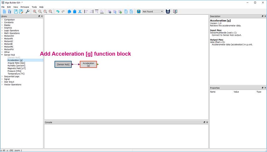 steps to develop MEMS algorithm code