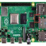 Raspberry Pi microcomputer