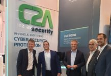Top Executives from C2A Security and NXP