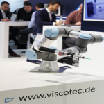 The new ViscoTec products at the productronica 2020 in Munich.