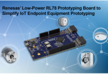 RL78 Prototyping Board