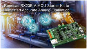 MCU Starter Kit for Analog Evaluation