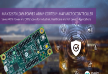 Arm Cortex-M4 microcontroller