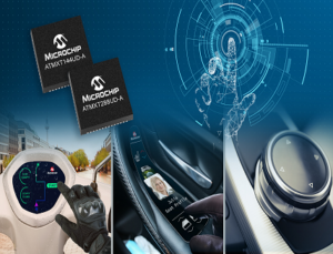 automotive touch screen controllers