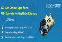 Medical Standard, 120-350W Open-frame AC-DC Converter