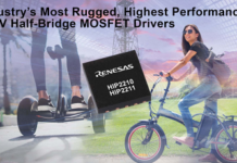 100V Half-Bridge MOSFET Drivers