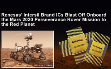 Intersil Rad-Hard ICs Onboard the Mars Perseverance Rover
