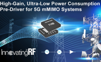 New RF Amplifier for 4G 5G Infrastructure Systems