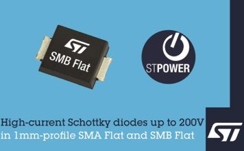 ST Low Profile SM Schottky diodes