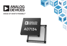 Analog Devices AD7134 Mouser