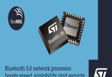 Bluetooth 5.0-certified BlueNRG-2N Network Processor