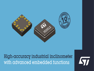 Digital Inclinometer with Embedded Machine Learning Core