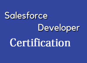Salesforce Developer Certification