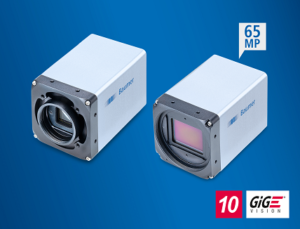 10 GigE cameras with 65 MP Gpixel sensors