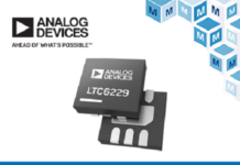 Analog Devices' LTC6228 and LTC6229 Op Amps