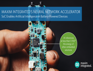 Neural Network Accelerator Chip SoC