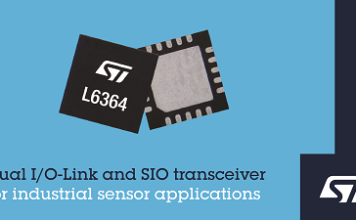 Dual IO-Link and SIO Transceiver