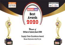 Mouser's Supply Chain Excellence Award
